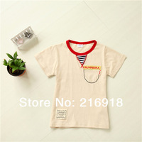 Boys clothing summer child t-shirt male child baby all-match top