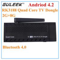 CX919 MK807IIS Google TV Android Smart TV Box RK3188 Quad-Core A9 1.6GHZ 2GB+8GB TV Stick Mini PC