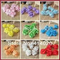 2014 Seconds Kill Hot Sale 100pcs/bag 7cm Diameter Pe Foam Rose Decoration Flower Handmade Diy Wedding Home Car Artificial