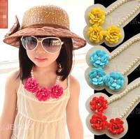 Wholesale(5pcs/lot)- Child colorful  accessories necklace