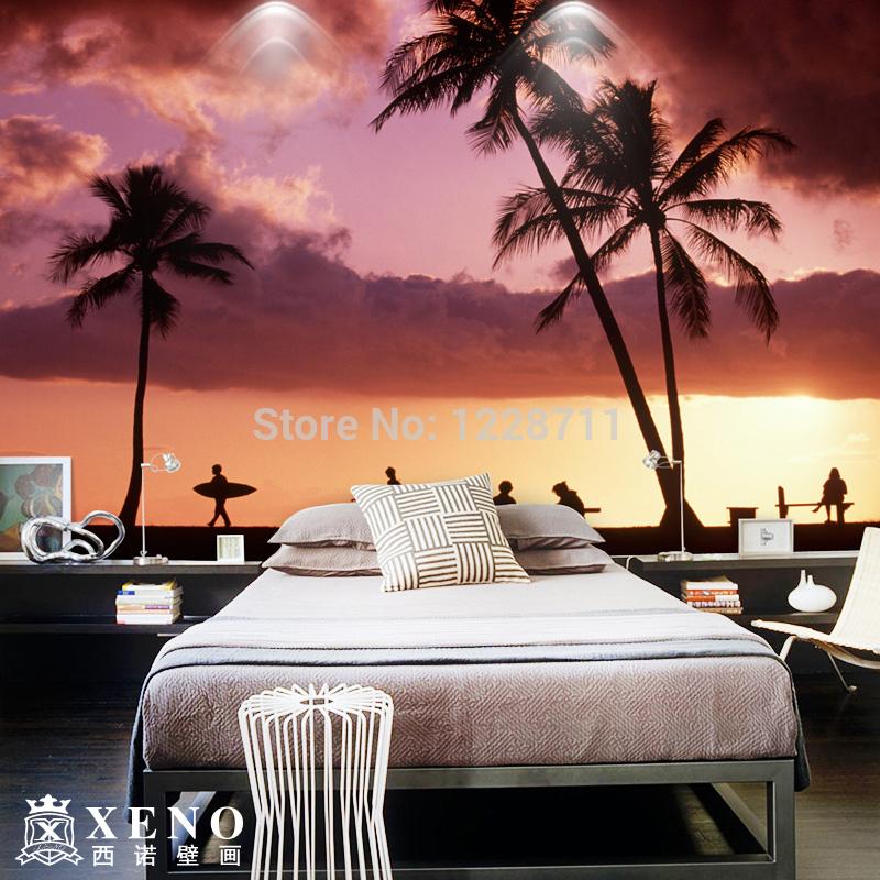 Beach sunset paisaje papel pintado papeles de la pared - Papel pintado paisaje ...