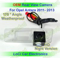 Free shipping! HD Rear View Opel Antara 2011- 2013 CCD night vision car reverse camera auto license plate light camera