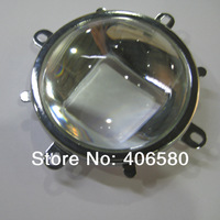 Free shipping  78mm LED Glass lamps and Reflector and Mounting Ring, stree light lenses cob led   lense