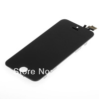 Free shipping Black  LCD Screen Display Touch Digitizer Assembly Fit For iPhone 5 5G 6th BA145 T15