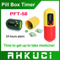 Free shipping Medicine box timer, alarm timer drug box, pills reminder, hot selling