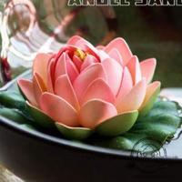 Artificial accessories decoration flower spatterdock lotus artificial flowers Small chromophous