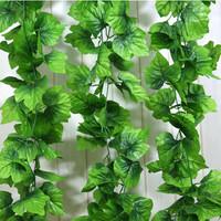 Artificial flower rattails decoration artificial leaf qihii grape plastic flower rattails decoration