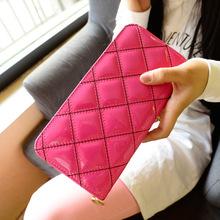 wholesale patent leather purse