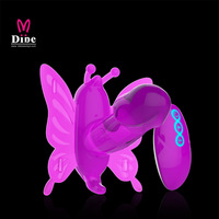 20 Speed Wireless Remote Control Butterfly Dildo Panties Strap on dildo Vibrator Sex Toy for women with Two Strong Motor