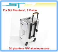 Free Shipping Dji phantom FPV Professional aluminum case box outdoor protection for DJI Phantom 2 Vision X350 pro easy to carry