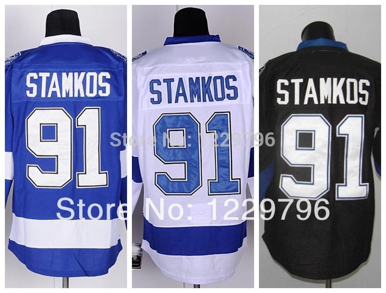 2014 тампа-бэй лайтнинг хоккей кофта #91 стивен Stamkos ...
