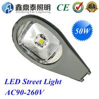 Free Shipping 50W LED Street Light Waterproof IP65 Road Lamps AC85V-265V Epistar chip cobra head lighting lamp street lights