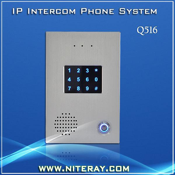 2014 digital audio door phone door entry interlocking system waterproof(China (Mainland))
