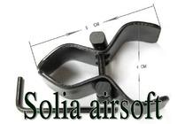 Flexible adjustable metal laser torch flashlight barrel scope mount rifle mounts