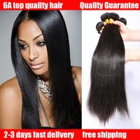 Malaysian virgin hair straight queen hair products 100% human hair extension 2pcs/lot ms lula hair weaves