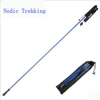 High quality superfine aluminum alloy rod lightweight folding outdoor cane stick for the blind