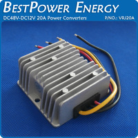 Free Shipping Waterproof DC to DC Converter 48V Step Down to 12V 20A 240W Power Supply Module Buck