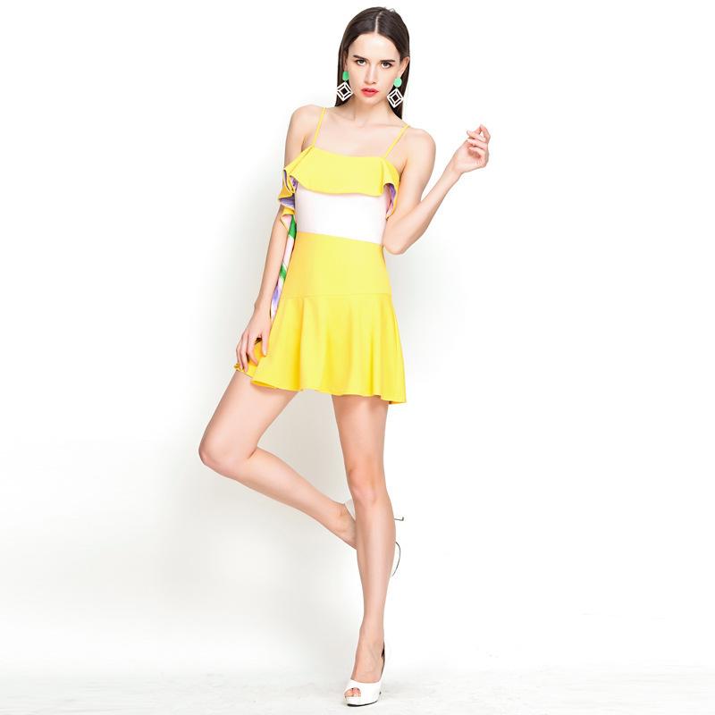 AliExpress.com Product - YIGELILA 6518 Wedding Dress With Ribbon Slash Neck Evening Dress Full Dress Free Shipping