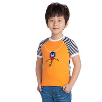 JJLKIDS  Boys New Short T-shirts Cute  decoration  Summer Tops Size 4-11 Years