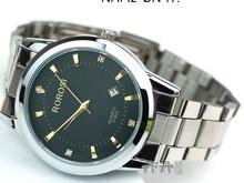 2014 HOT new Fashion aço barato e de boa qualidade homens Dress Watch(China (Mainland))