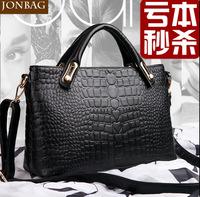 New 2014 Johbag Brand Fashion Women's Leather Handbag Shoulder cross-body crocodile Women Bags Messenger Bags5