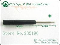 Hand Tools 5000pcs ph000 Phillips screwdriver, cell phone repair tools, black handle, precision manufacturing