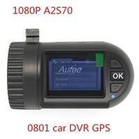 100% Original Mini 0801  Full HD Video Recorder Car Camera DVR Ambarella  A2 1080P 1296P SOS+GPS free shipping