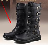 Tall men's boots Martin boots fashion high leg cowboy boots