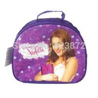 Free Shipping New Original Violetta Bag Girl Lunch Bag Thermal Bag Handbag Lunchbox Children Cartoon Bag Lunch Box for Kids