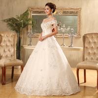 Wedding Dress 2014 New Arrival Vintage White Luxury Princess Beaded Embroidery Plus Size Bride Lace Mermaid Wedding Dress Custom
