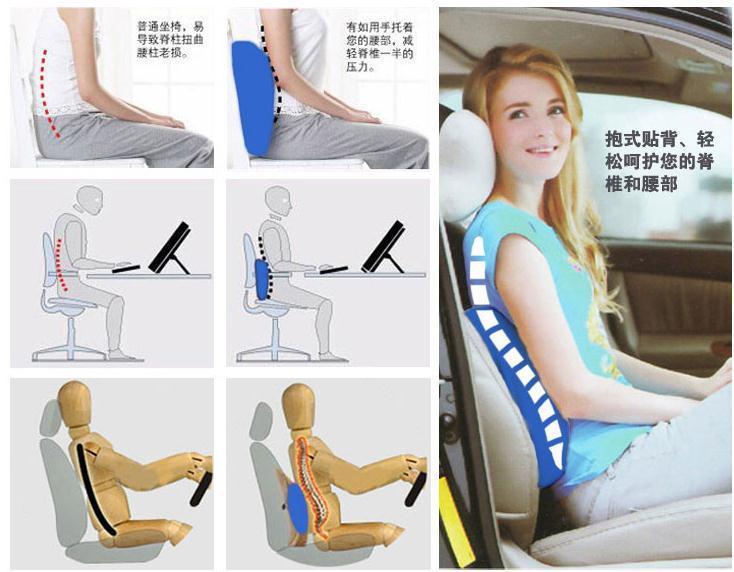 Microcomputador saúde almofada de massagem travesseiro massagem lombar elétrico duplo carro e uso doméstico magnetismo massagem cintura(China (Mainland))
