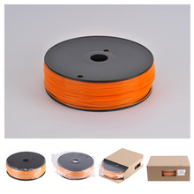 China Manufacturer ABS Filament For Makerbot Reprap 3D Printers In Orange
