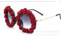New 2014 P Brand Fashion lover cute Designer kids sunglasses Children glasses girls sunglass rose Shades GOGGLES vintage holiday