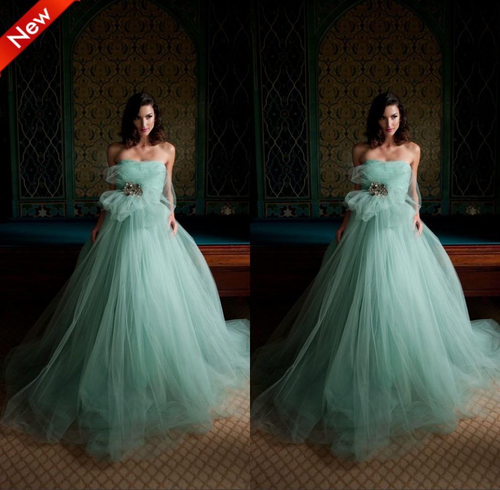 Popular hunter green wedding dresses aliexpress