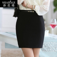 Fashion 2014 female half-skirt free shipping slim hip short skirt autumn winter women's ol formal suit skirt hot sell