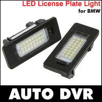 2Pcs/Set New LED License Plate Light kit for BMW 1 3 5 Series E90 E92 E60 E70 E71 E46 E82 E39 X3 X5 Error Free shipping
