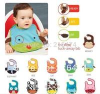 Zoo Style Baby Waterproof bib Carter Baby wear Baby bib Infant saliva towels/burp cloths