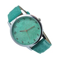 HOT Sell Quartz Business man fashion wristwatch women men vintage classical sliver dail watch leather strap sports watches C052