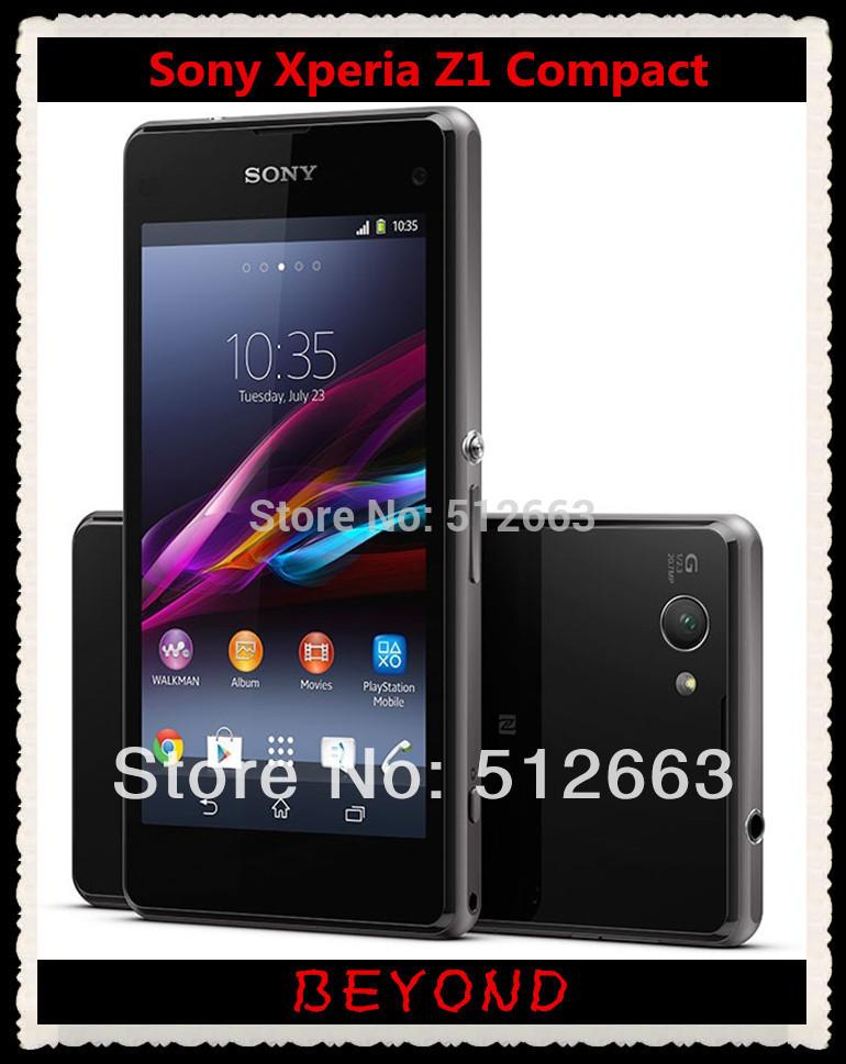 "Sony Xperia Z1 Compact Original Unlocked GSM 3G&4G Android Quad-Core 2GB RAM D5503 4.3"" 20.7MP WIFI GPS 16GB Storage(China (Mainland))"