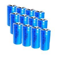 10Pcs* CR123A (CR17345) 1500mAh /3V Li-MnO2   Battery -PKCELL