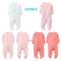Retail,Carter'sOriginal Baby Boys Girls Fashion Long Sleeve Rompers,Carters Baby Clothing,Baby Romper,Freeshipping (in stock)