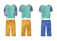 2014 Wholesale Summer Boys Brand Set Strip T Shirt + Solid Pant Children Cloth Set Kids Summer Two PCS Set Children Clothing Set