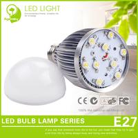 4 pcs/lot Energy saving 9w LED Dimmable Bulbs smd E27 CE RoHS LED Bubble Ball Light Easy Maintenance
