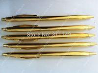Customized cheap gold metal BALLPOINT PEN 500pcs/lot free shipping by FEDEX