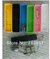 Perfume mini Power Bank universal USB External Backup Battery for iPhone 4s 5 5c Mobile power for samsung Without   battery