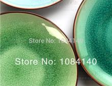 2014 Hot Sale Direct Selling Freeshipping 7 polegadas 1 China vento gelo rachar Pequeno Prato Restaurante Bar Ocidental Dishs prato de cerâmica(China (Mainland))