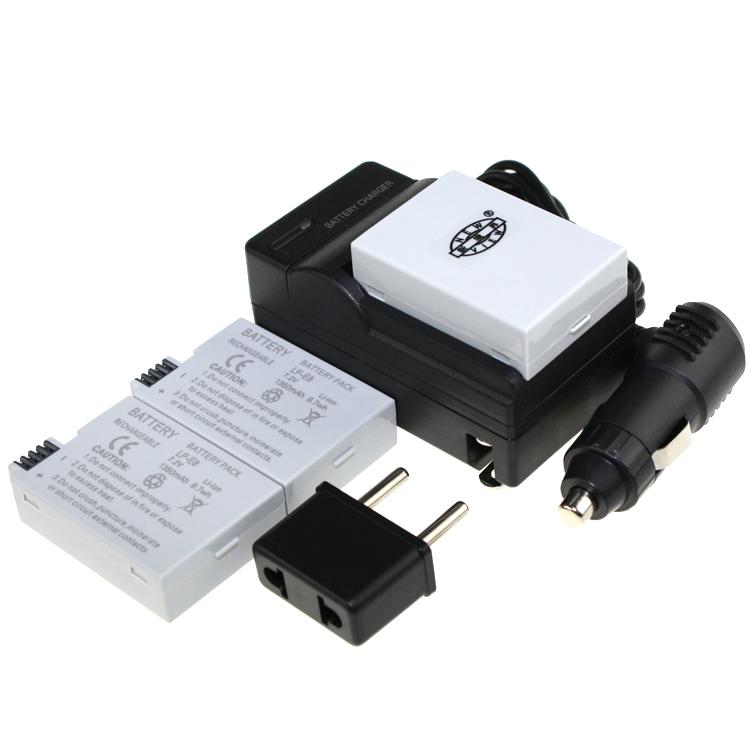 Hot Sale 3pcs Battery LP E8 LP E8 LP E8 Rechargeable Camera Battery For Canon 550D