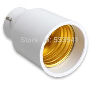 free shipping B22 to E27 LED Halogen CFL Light Base Bulb Lamp Adapter Converter Socket