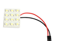 free shipping LED SMD Car Bright Interior Dome Panel Lights C