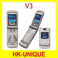 Original Unlocked MOTOROLA RAZR V3 cell phones Free Shipping